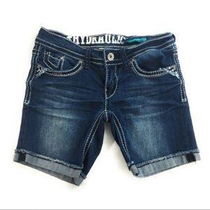 Hydraulic Bailey Low Rise Denim Shorts, 1/2